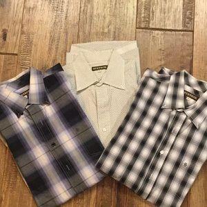 Set of three Stetson men's long sleeve